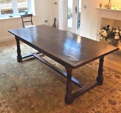 Jacobean-style Refectory Oak antique Dining Table