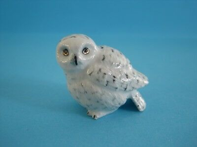 "LITTLE CRITTERZ BIRD ""GHOST"" SNOWY OWL FIGURINE, POPULAR *Mint Condition*"