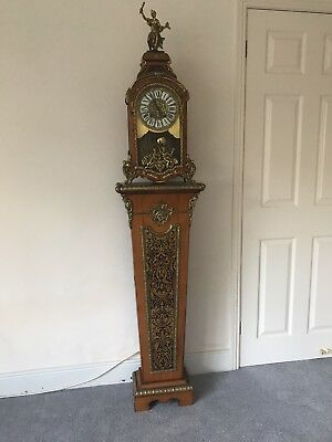Inlaid Grandmother Clock