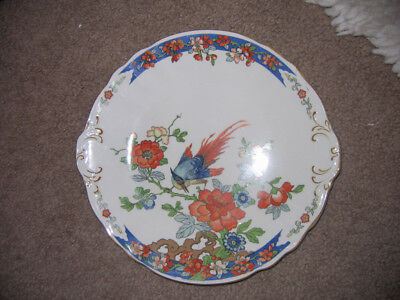 """Wood and Sons Bird of Paradise Serving Dish 9 1/4"""""""