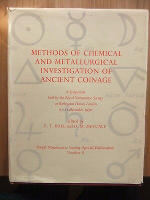 Methods Of Chemical And Metallurgical Investigation Of Ancient Coinage