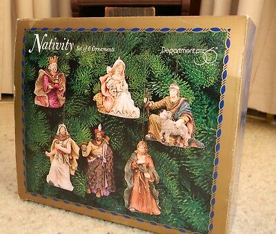 ****Department 56 Nativity Set of 6 Ornaments*** - NEW IN BOX