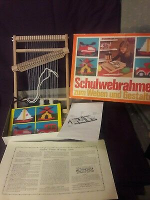 Educational German-made Weaving Frame with detailed instructions