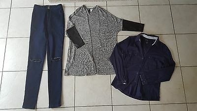 Women/Ladies Clothes Bundle Size 6 From Mango, H&M & Missguided