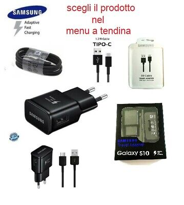 CARICABATTERIA  RAPIDO Samsung FAST CHARGING Galaxy A3 2017 A5 2017 Cavo TYPE-C