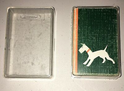 Vintage Airedale (Lakeland, Welsh etc.) Terrier Deck of Whitman Playing Cards