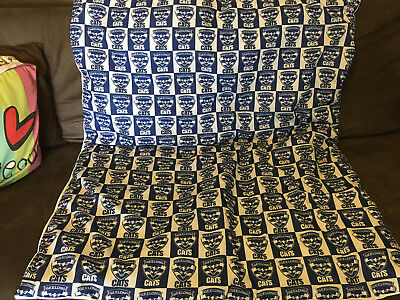 Geelong Cats Large Dog, TV, Stadium or Cot Quilt