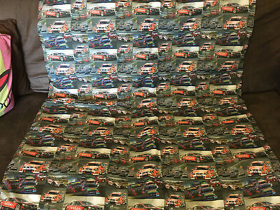 Supercars Large Dog, TV, Stadium or Cot Quilt