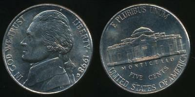 United States, 1998-D 5 Cents, Jefferson Nickel - Uncirculated