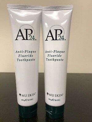 Nu Skin AP-24 Anti-Plaque Fluoride Toothpaste - Brand New  2 Packs.