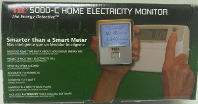 Home Energy Monitor The Energy Detective TED 5000-C Gateway, MTUs, CTs & Display