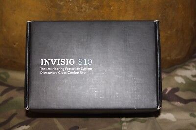 Invisio S10 Tactical Hearing Protection System UKSF Headset