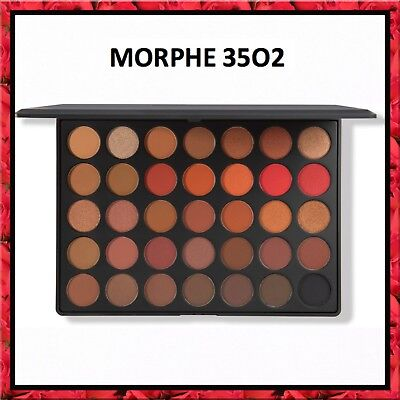 Morphe Brushes 35O2 SECOND NATURE EYESHADOW PALETTE 3502 Colour Eyeshadow Makeup