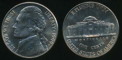 United States, 1999-D 5 Cents, Jefferson Nickel - Uncirculated
