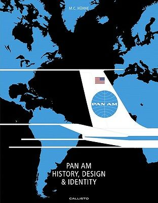 Pan Am - History Design Identity (American Airways Clipper) Buch book VERY RARE!