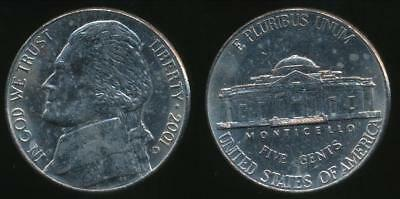 United States, 2001-D 5 Cents, Jefferson Nickel - Uncirculated