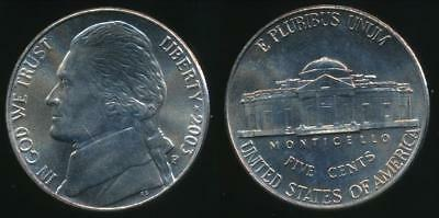 United States, 2003-P 5 Cents, Jefferson Nickel - Uncirculated