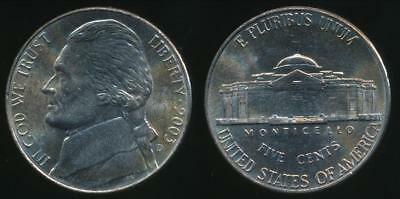 United States, 2003-D 5 Cents, Jefferson Nickel - Uncirculated
