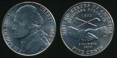 United States, 2004-P 5 Cents, Jefferson Nickel (Peace Medal) - Uncirculated