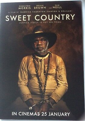 Promotional Movie Flyer For Sweet Country Bryan Brown, Sam Neill *NOT A DVD*