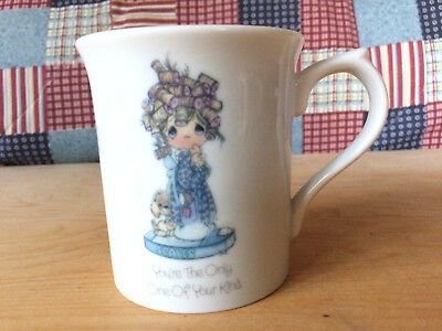 Precious Moments Mug Cup SCALES Enesco 1985 You're The Only One of Your Kind