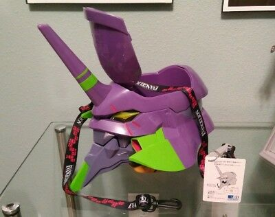 Universal Studios Japan Evangelion Unit EVA-01 Popcorn Bucket. US Seller.