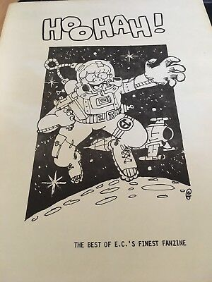 BEST OF HOOHAH - 1984 E.C. comics fanzine - Mad Etc
