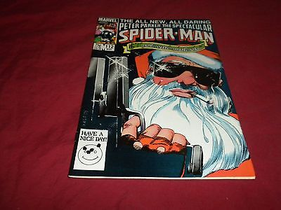 The Spectacular Spider-Man #112 (Mar 1986, Marvel) copper age 8.0/8.5 comic!!!!