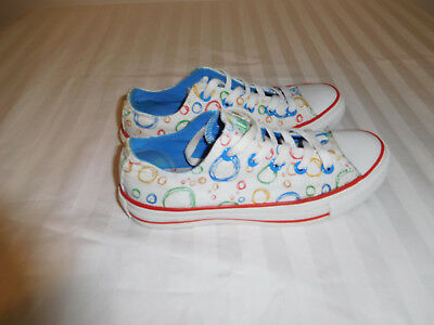 Converse Chuck Taylor All Star Low Top Bubble Pattern, Women's size 6