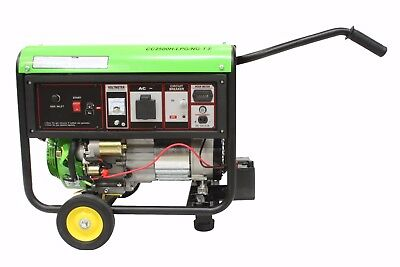 Gas (LPG) Powered Generator (3.25KvA) with wheels and handles.
