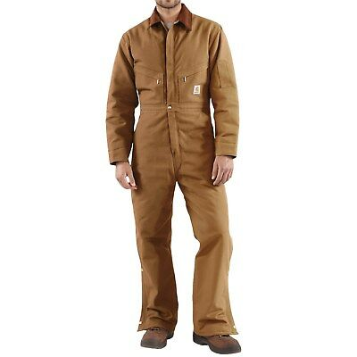 """Carhartt Flame-Resistant Duck Coveralls--Insulated---Large [42-44""""], Tall"""