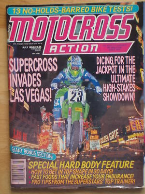 Motocross Action July 1990