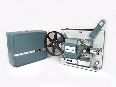 Bell & Howell 357 AUTOLOAD Super 8 Movie Projector SERVICED and VERY CLEAN