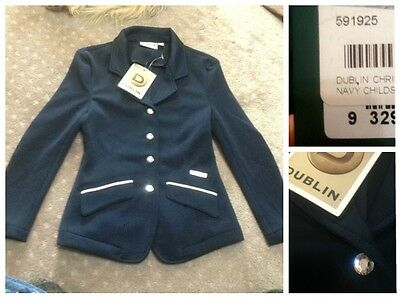 New Dublin Christina childs navy competition jacket, sz 10