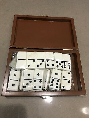 NEW! Dal Rossi Ital Dominoes in Attache Case 1/2 Price Demo Model RRP $55