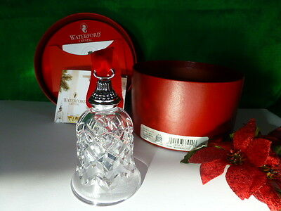 Waterford 12 days of Christmas 4 Calling Birds Bell Ornament Crystal