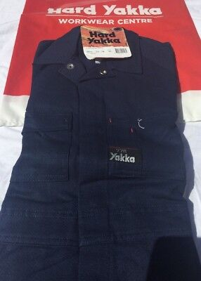 Hard Yakka OVERALLS 77R Heavyweight Cotton GREAT PRESENT 🎁 FREE POST