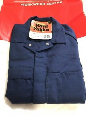 Hard Yakka WORK OVERALLS 72R Kids / Apprentice FREE POST FOR🎄 Great 🎁