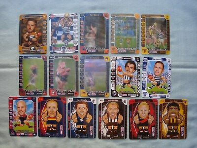 2014/15 Afl Teamcoach Bulk Lot Footy Flix Footy Pals Popups