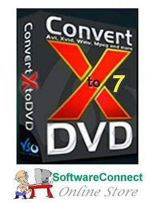 ConvertXtoDVD 7 ConvertXtoDVD7 Convert Video DivX XVid Avi Mpeg to DVD