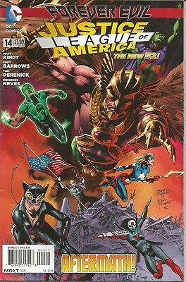 JUSTICE LEAGUE of AMERICA - No. 14 (July 2014)
