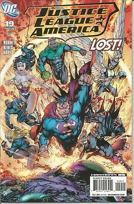 JUSTICE LEAGUE of AMERICA - No. 19 (May 2008)