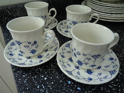 Churchill Finlandia Cups And Saucers X 4