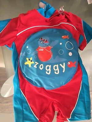 Zoggs Swim Suit Float Size 1-2
