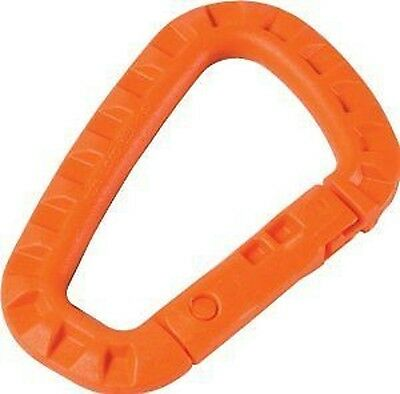 2 ITW NEXUS Tactical link Karabiner Ghilitex Orange