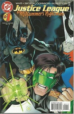 JUSTICE LEAGUE a Midsummer's Nightmare - No. 1 (September 1996)