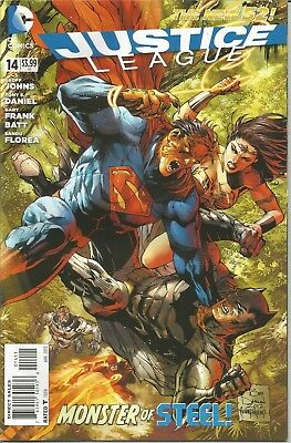 JUSTICE LEAGUE - No.  14 (January 2013)