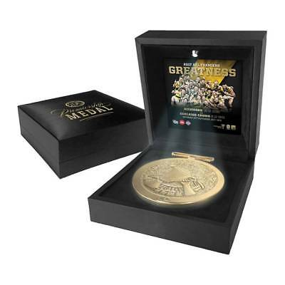 Richmond 2017 Afl Premiers Official Boxed Premiers Medallion Cotchin Riewoldt