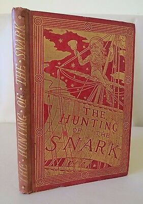 HUNTING OF THE SNARK by Lewis Carroll 1899 Illustrated Henry Holiday