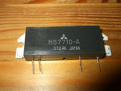 MITSUBISHI  M57710  RF Power Module  FREE UK Postage